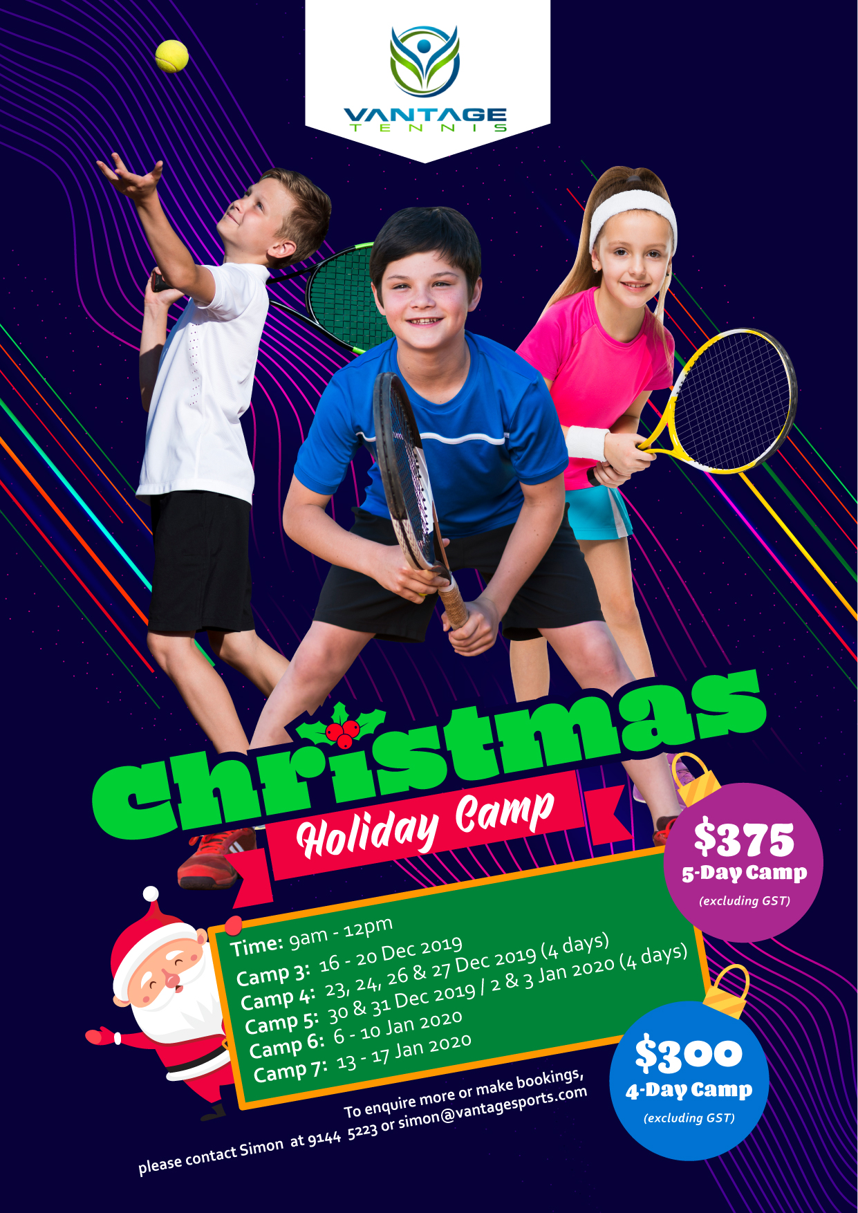 Christmas Holiday Camp latest