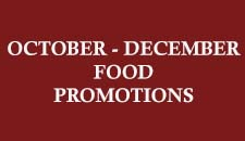 October - December Food Promotion