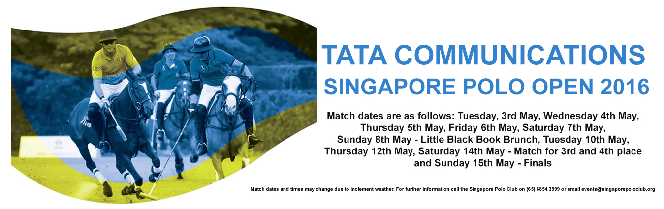 TATA Communications Singapore Polo Open 2016