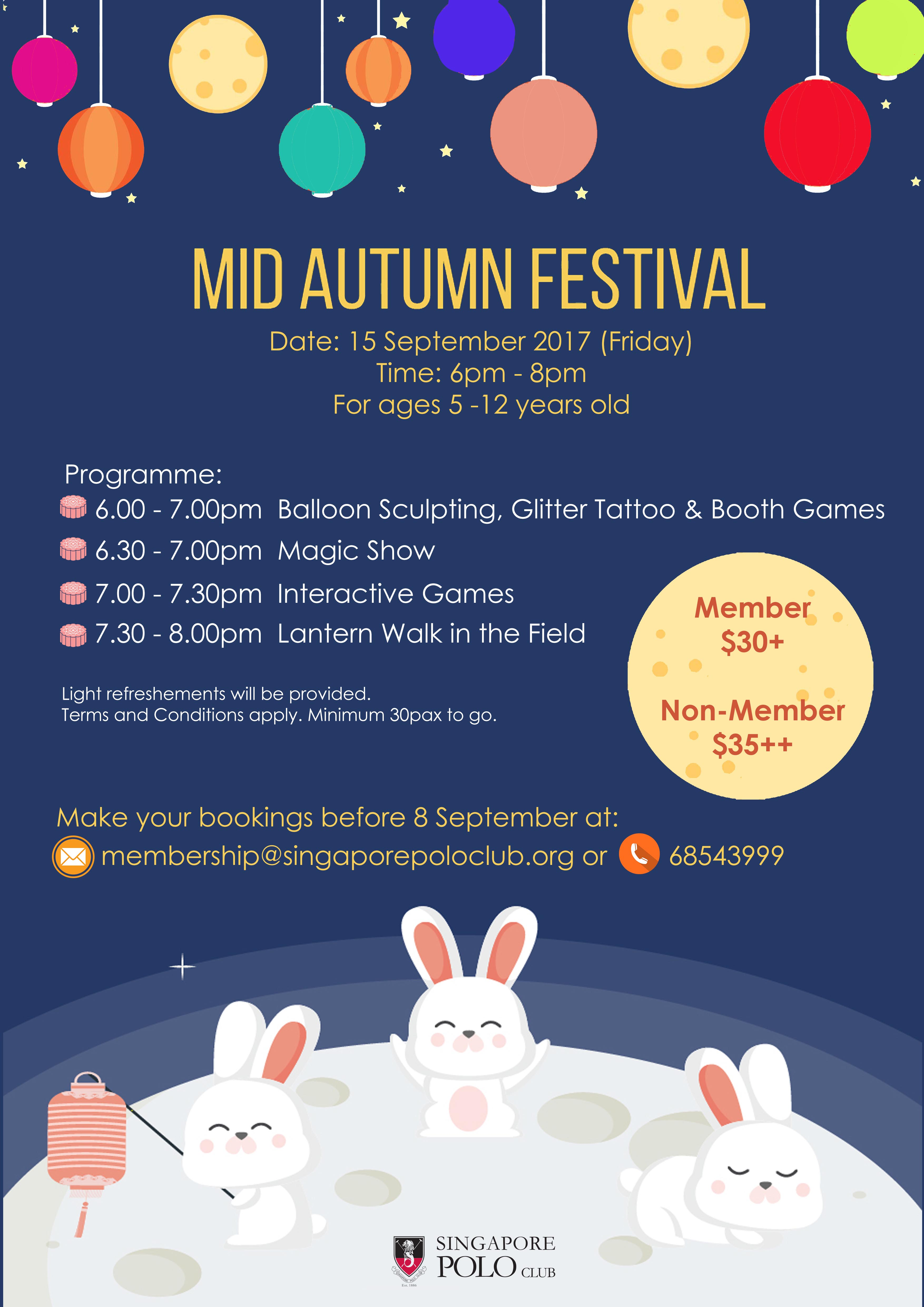 Mid Autumn Festival -Events